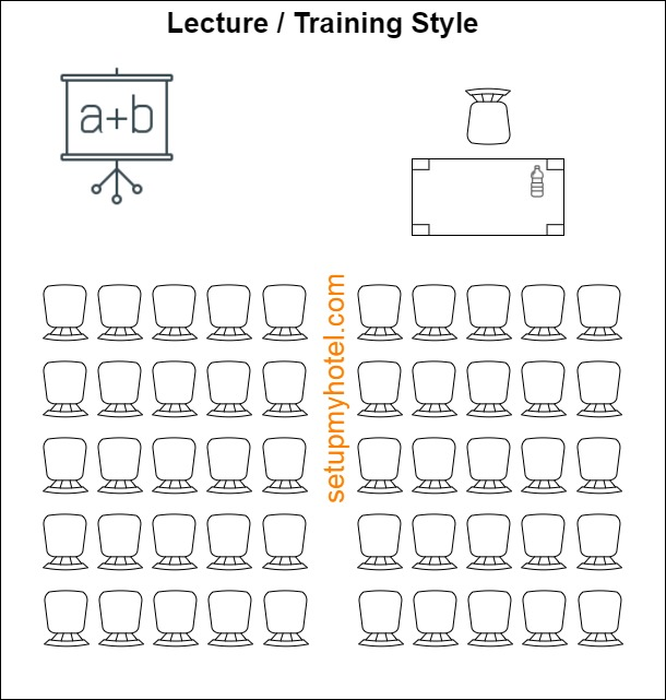 Lecture Room - Training Room Style