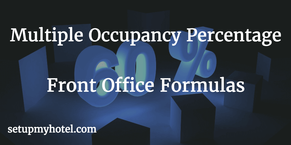 Multiple occupancy ratio calculator, Multiple occupancy calculator, Hotel Occupancy Ratio Calculator