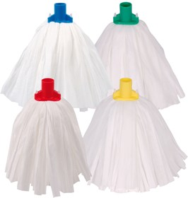Disposable mops used in housekeeping hotels