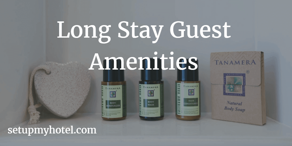List of room amenities for long stay guests for Kitchen amenities list